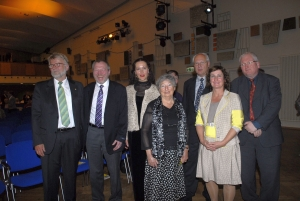 Members of the Henselt-Society at the main concert 2014