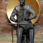Adolph von Henselt statue in Schwabach